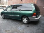 2002 Ford Windstar Van Driver-side View